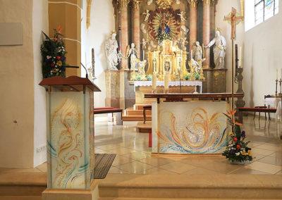 Marton Glas Altargestaltung